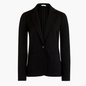 New JCREW Black Ponte Work Blazer